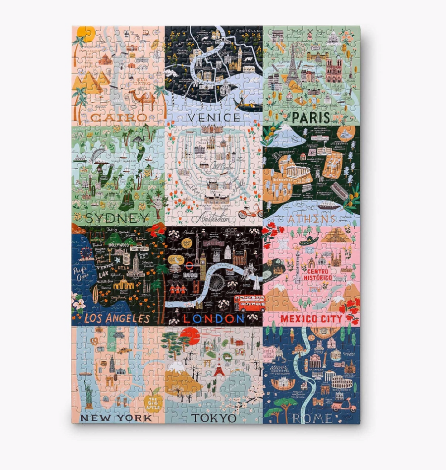 Maps Jigsaw Puzzle