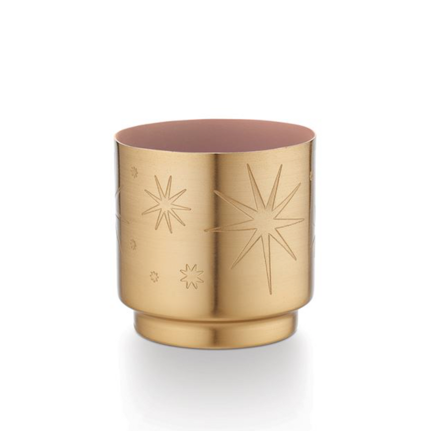 Pink Pine Tiny Tinsel Candle