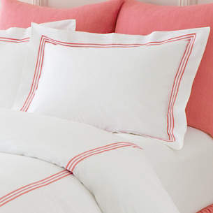 Trio Coral Pillowcases Standard