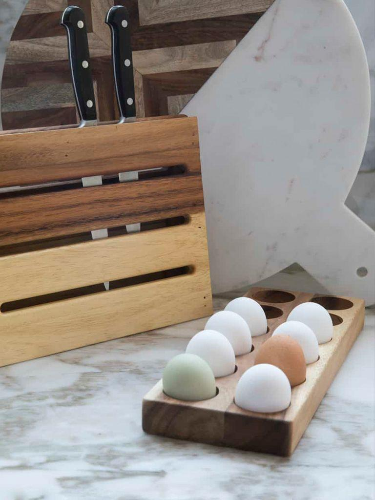 Acacia Egg Holder Dozen