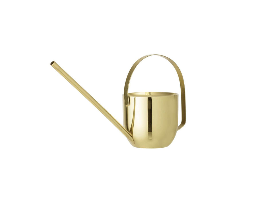 Round Gold Watering Can