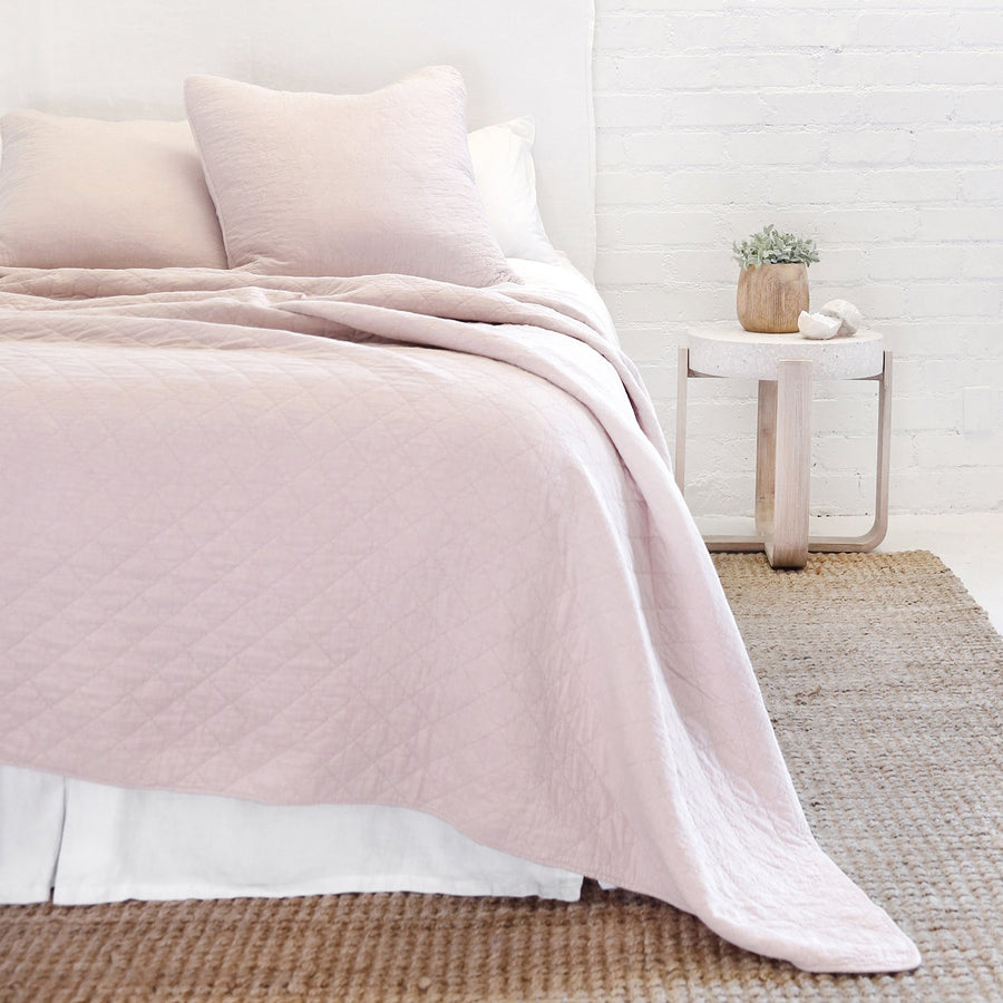 Huntington Blush Coverlet Queen