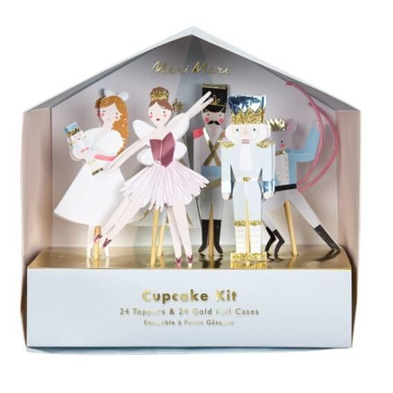 Nutcracker Cupcake Kit