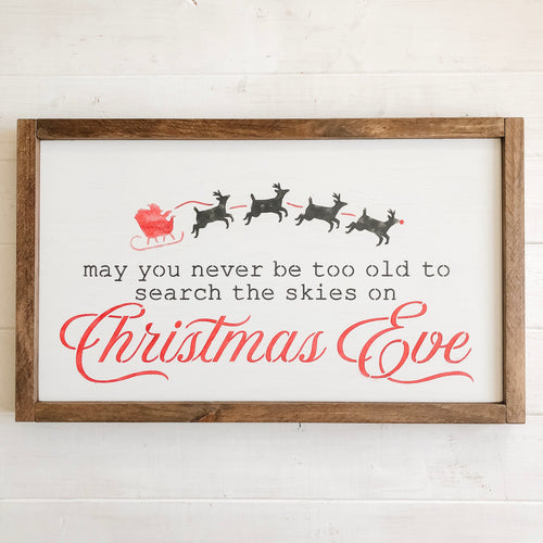 Christmas Eve Sign