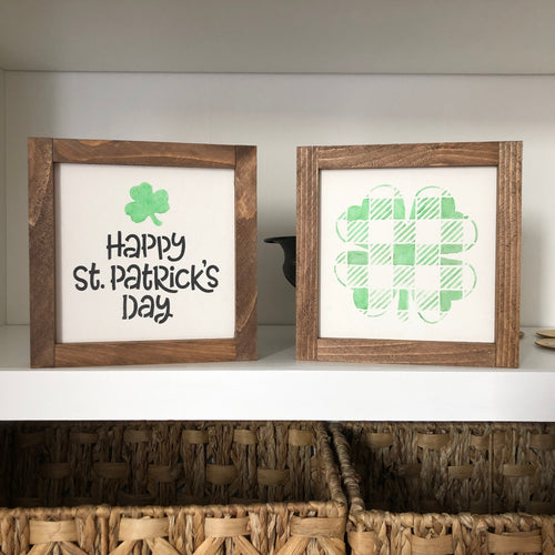 St Patrick's Day Mini Sign