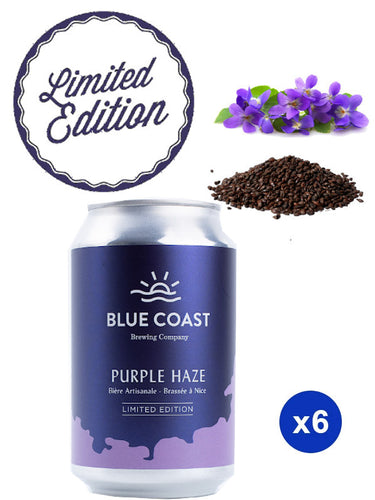 Violet Stout Purple Haze Beer 33cl