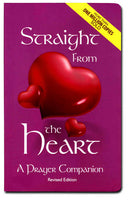 Straight From the Heart A Prayer Companion Purple by Father Mario Ladra hardcover