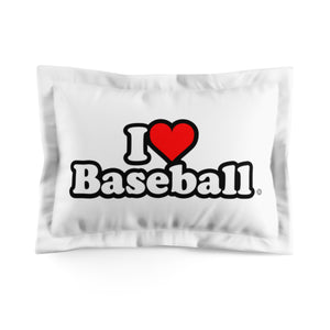 I Heart Baseball® Microfiber Pillow