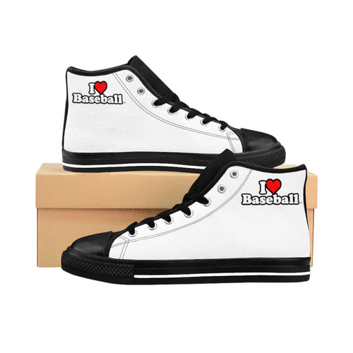I Heart Baseball® Men's High-tops
