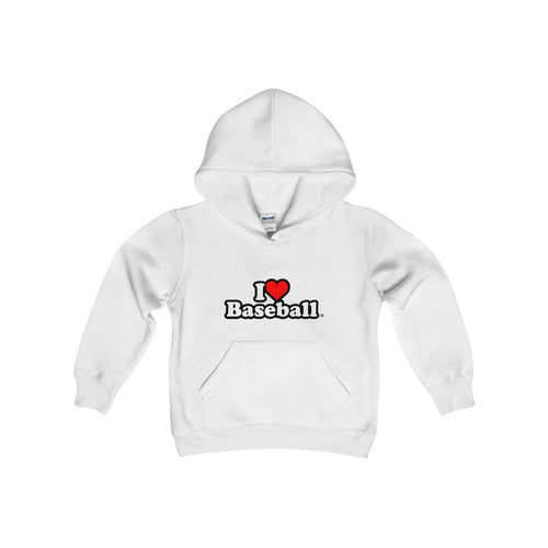I Heart Baseball® Kid's Hooded Sweatshirt