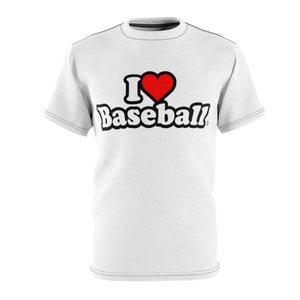 I Heart Baseball® Men's AOP Cut & Sew Tee