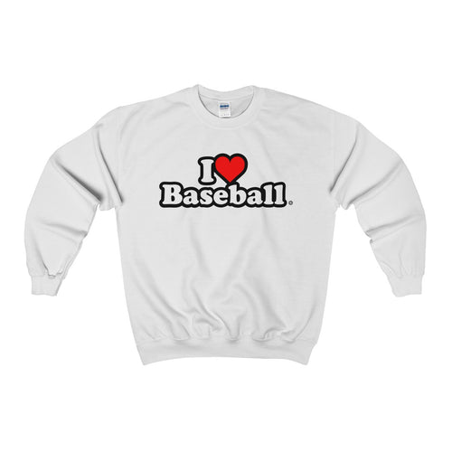 I Heart Baseball® Men's Crewneck