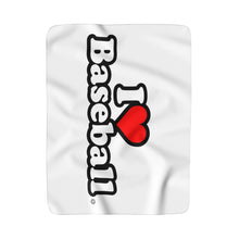 I Heart Baseball® Fleece Blanket