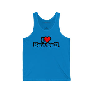 I Heart Baseball® Men's Tank Top