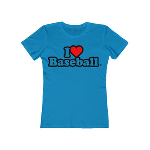 I Heart Baseball® Women's T-Shirt