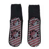 Sports Massage Socks Women Fitness Cotton Gym Socks Non Slip Massage Yoga Pilates Socks Tourmaline Magnet Therapy Foot Care