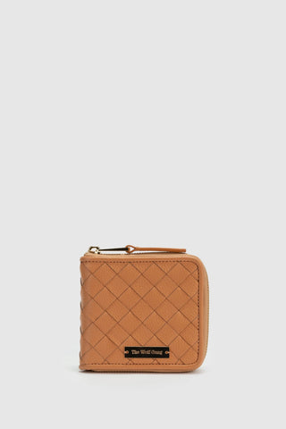 Estrella Woven Wallet Butterscotch