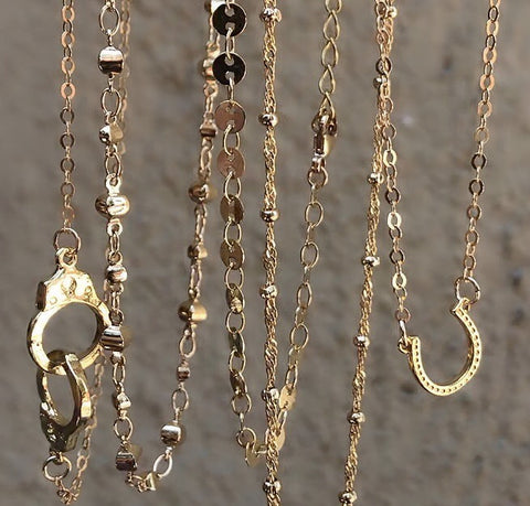 Gold Fill Necklaces