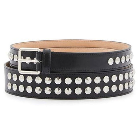 Alexander McQueen Double Wrap Studded Belt