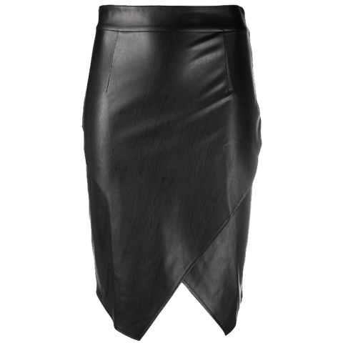 Patrizia Pepe Faux Leather Skirt
