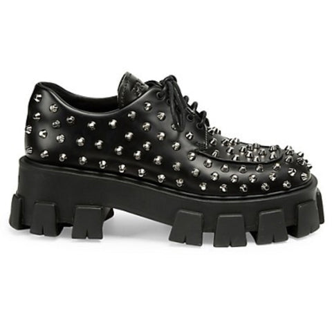 Prada Studded Creepers