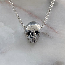Load image into Gallery viewer, Baby Skull Necklace