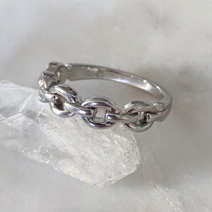 Cable Chain Eternity Ring
