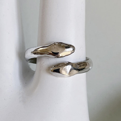 Double Headed Wrap Snake Ring