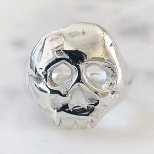 Cut it Out Skull Ring