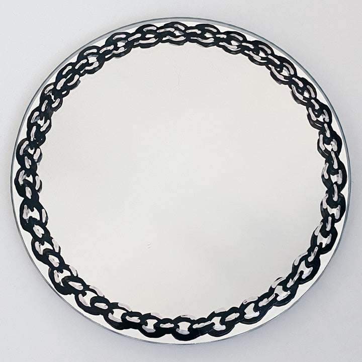Small Chain Accent Mirror