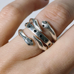 Lovers Snake Rings