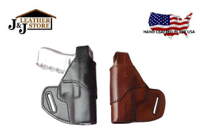 J&J Belt Slide OWB Holster w/ Thumbbreak