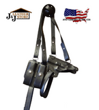 J&J Horizontal Shoulder Holster Rig