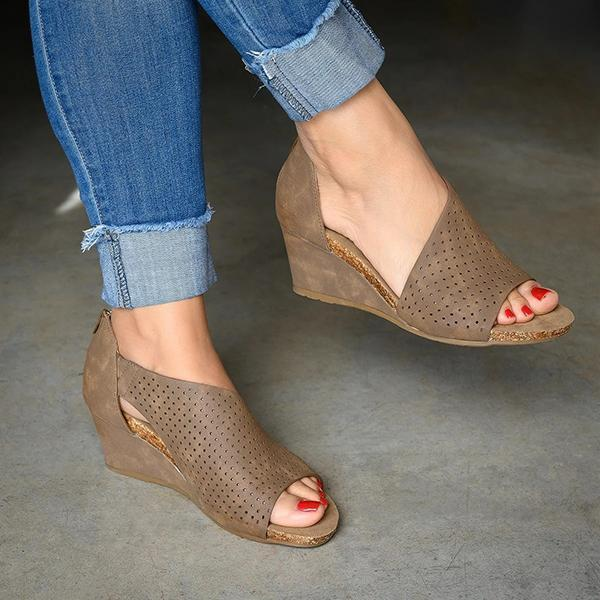 Daily Slip On Wedge Sandal