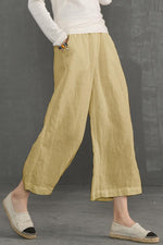 Casual Side Pockets Pants