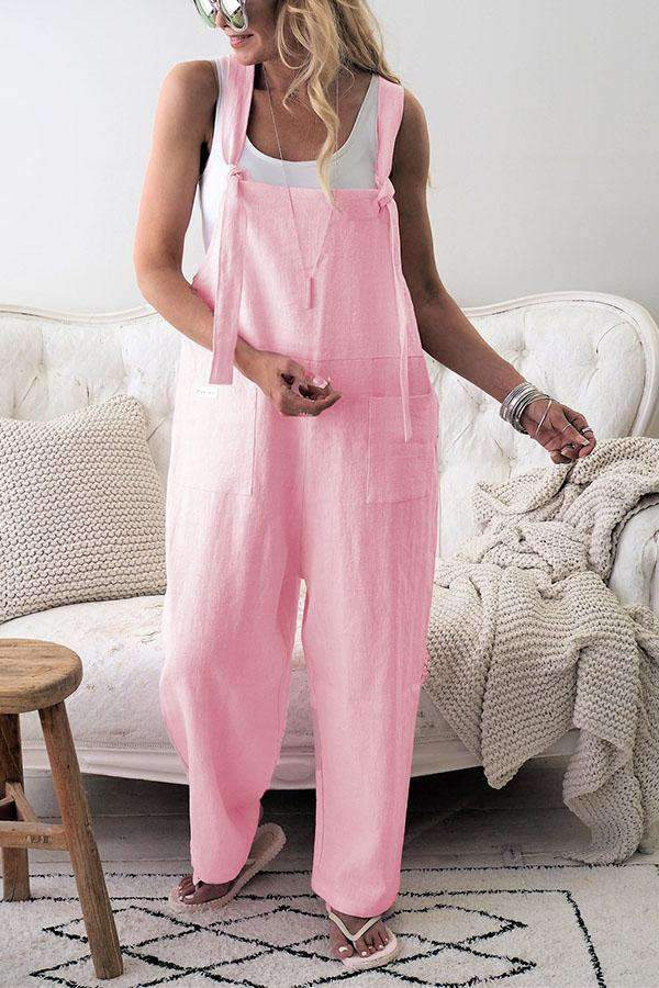 Women's Loose Baggy Wide Leg Jumpsuit