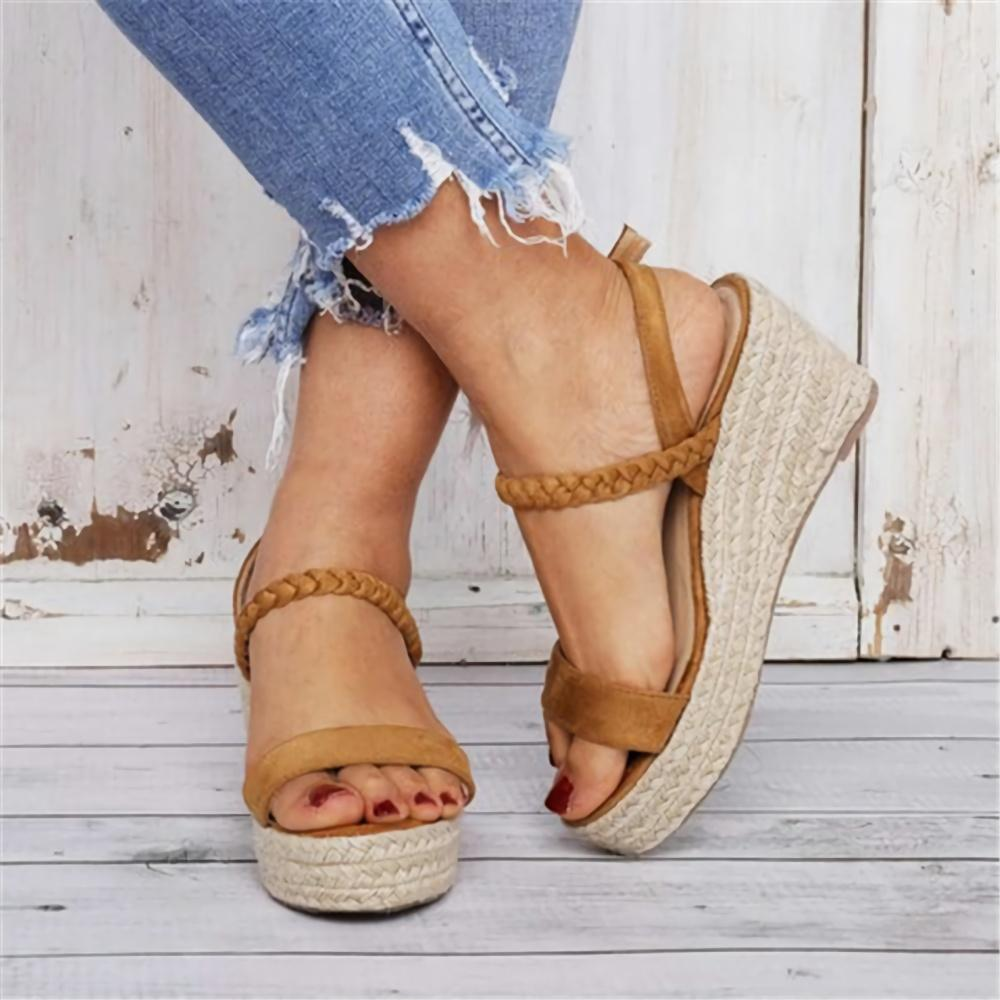 Wedge Platform High Heel Sandale