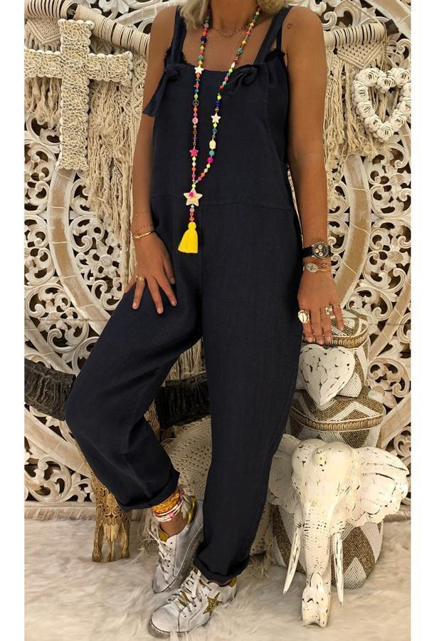 Wide Leg Adjustable Jumpsuit