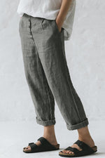 Casual Comfy Button Side Pockets Pants