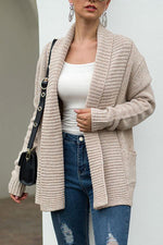 Solid Casual Long Sleeves Cardigans