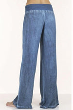 Casual Shift High Waist Solid Jeans Pants