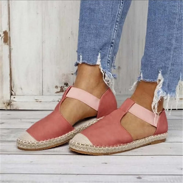 Color Block Flalx Flat Women Sandals