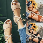 Breathable Espadrille Buckle Bohemian Sandals
