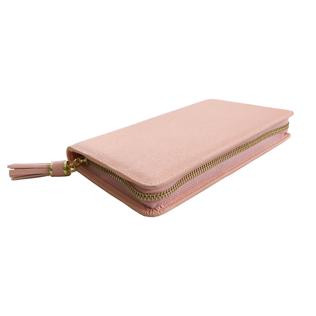 Saffy Jewelry Case - Blush Rose