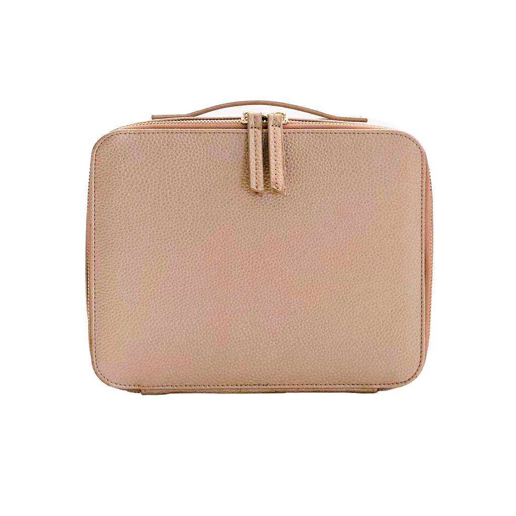 Colette Makeup Bag - Rose Gold