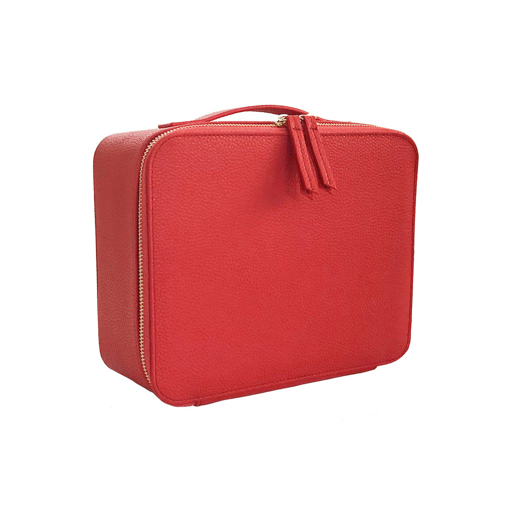 Colette Makeup Bag - Blood Orange