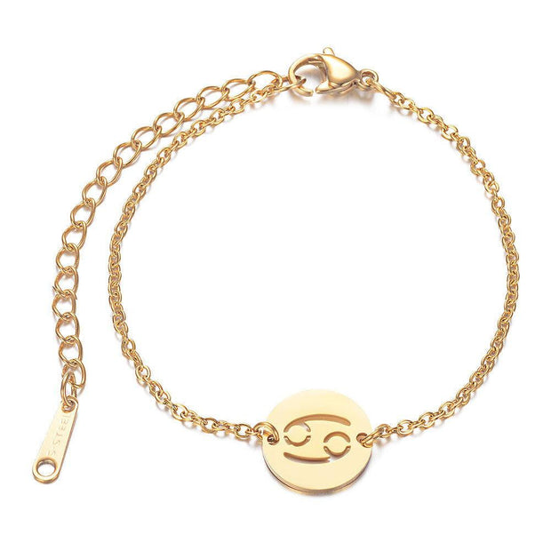Bracelet Zodiac Paris Flavor Gold Cancer
