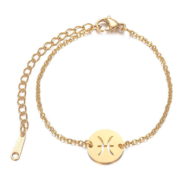 Bracelet Zodiac Paris Flavor Gold Poissons