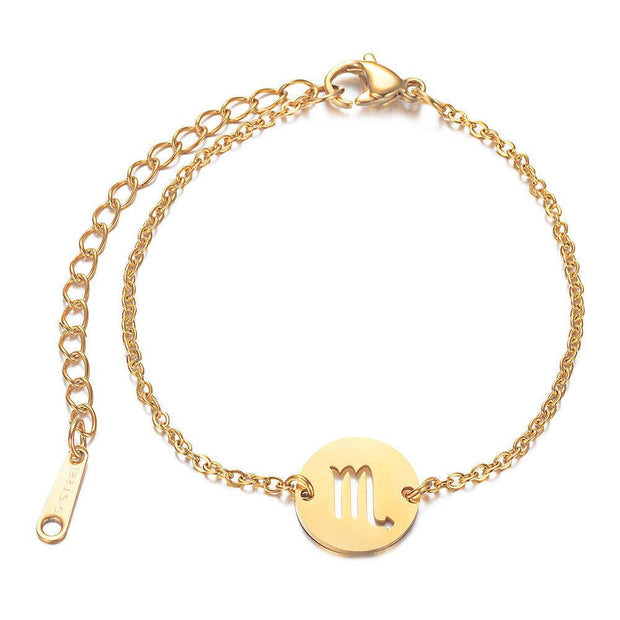 Bracelet Zodiac Paris Flavor Gold Scorpion