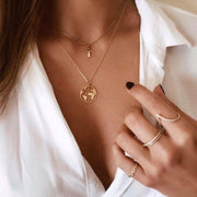 Collier Earth ParisFlavor Gold